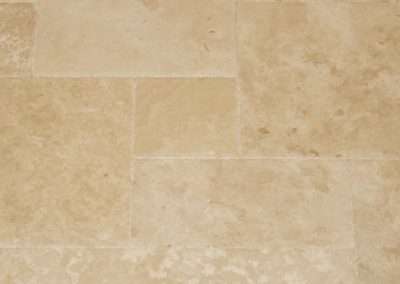Ivory Classic Brushed Chiselled Edge