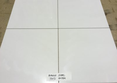 Bianco Sivec Polished 12″x12″ Extra